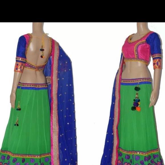 Dresses & Skirts - Chaniya choli Indian outfit